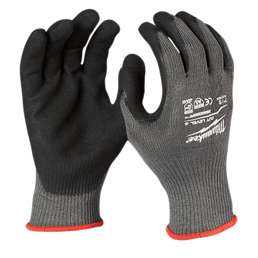 Cut Level 5 Nitrile Dipped Gloves