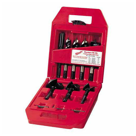 Plumbers' Selfeed Bit Kit (7 PC)