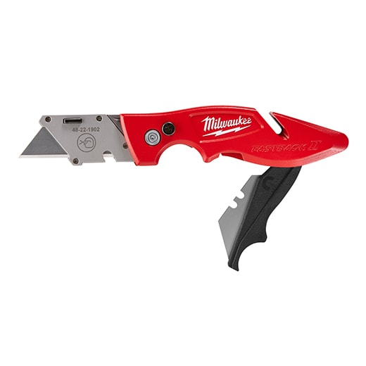FASTBACK II™ Flip Utility Knife With Storage