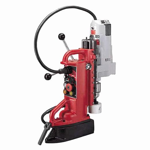 "Adjustable Position Electromagnetic Drill Press with 3/4"" Motor"